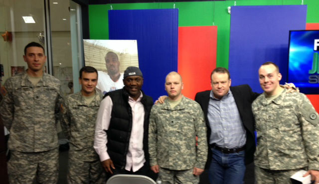 Hall Of Famer Thurman Thomas & Former Bills Great Steve Tasker Visit WBBZ-TV