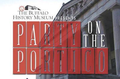 Party On The Portico!