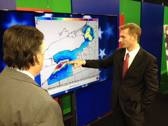 """Ch 7. Meteorologist Andy Parker on Global Warming.  It's the """"Talk of the Town"""" Sunday at 11a.m."""