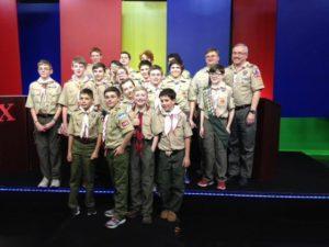 Bragging Rights 2016 Troop 440 Andy Dad with Teams