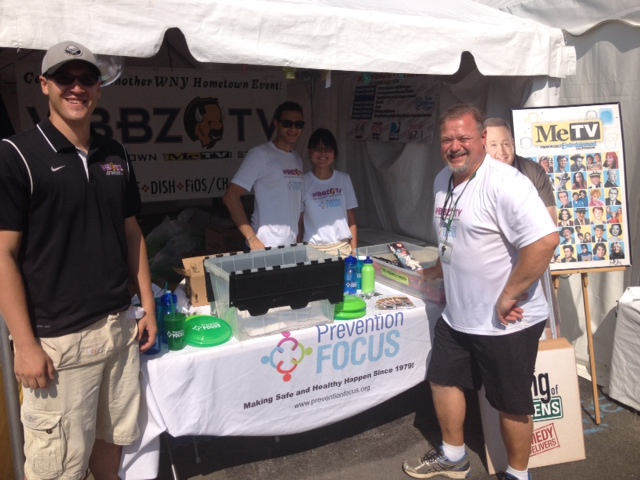 Thanks For Helping WBBZ-TV Raise Over $5,000 For Prevention Focus at the Erie County Fair!