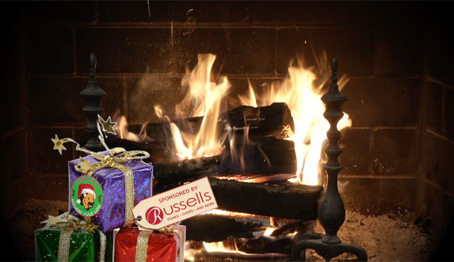 Russell J. Salvatore Presents Holiday Yule Log Christmas Eve@8p.m. through Christmas Day@7p.m. on WBBZ-TV