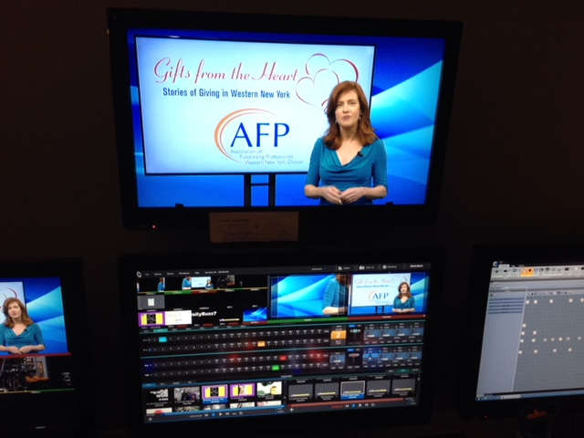 "Ginger Geoffery hosts ""Gifts From The Heart: Stories of Giving in WNY"" Sunday 7:30p.m. on WBBZ-TV"