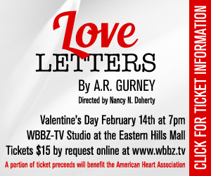 Love Letters by A.R. Gurney - February 14th, 2017