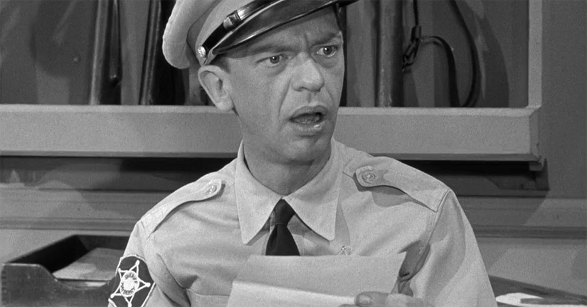 "Did You See These 11 Errors on ""The Andy Griffith Show?"" Weeknights at 8:30p.m. on WBBZ-TV"