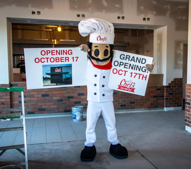Chef's On The Go in Amherst to Open October 17th!