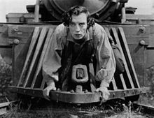 """The General"" with Buster Keaton Saturday@Midnight on ""Off Beat Cinema"""