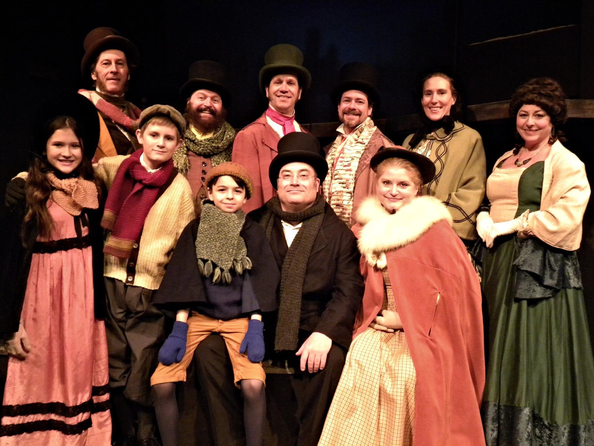 """A Christmas Carol"" at Alleyway Theatre"