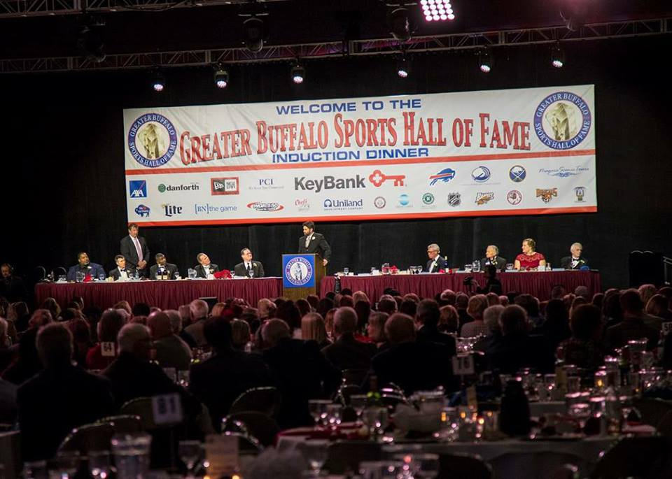 Greater Buffalo Sports Hall of Fame 2017 Induction Ceremony December 31st 5p.m. on WBBZ-TV