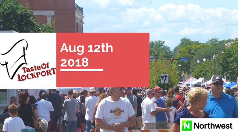 Taste of Lockport August 12th!
