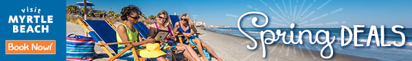Visit Myrtle Beach 2018 Spring Deals - Book Now!