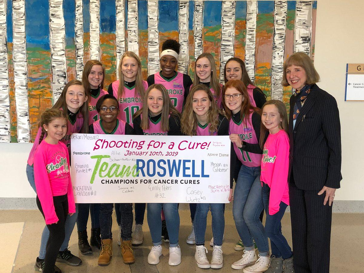 "WBBZ-TV Supports Pembroke High School ""Shooting For A Cure!'"
