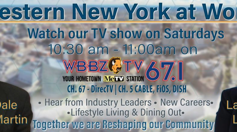 "Watch ""WNY@Work"" Saturday 10:30am"